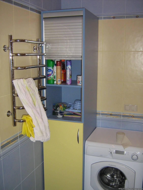 Из чего сделать шкаф в ванной своими руками 793